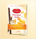 "Zauber Sticks aus Lübecker Marzipan  – ""Orange-Marzipan"""