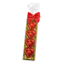 Lübeck Hearts with Clip and Ribbon